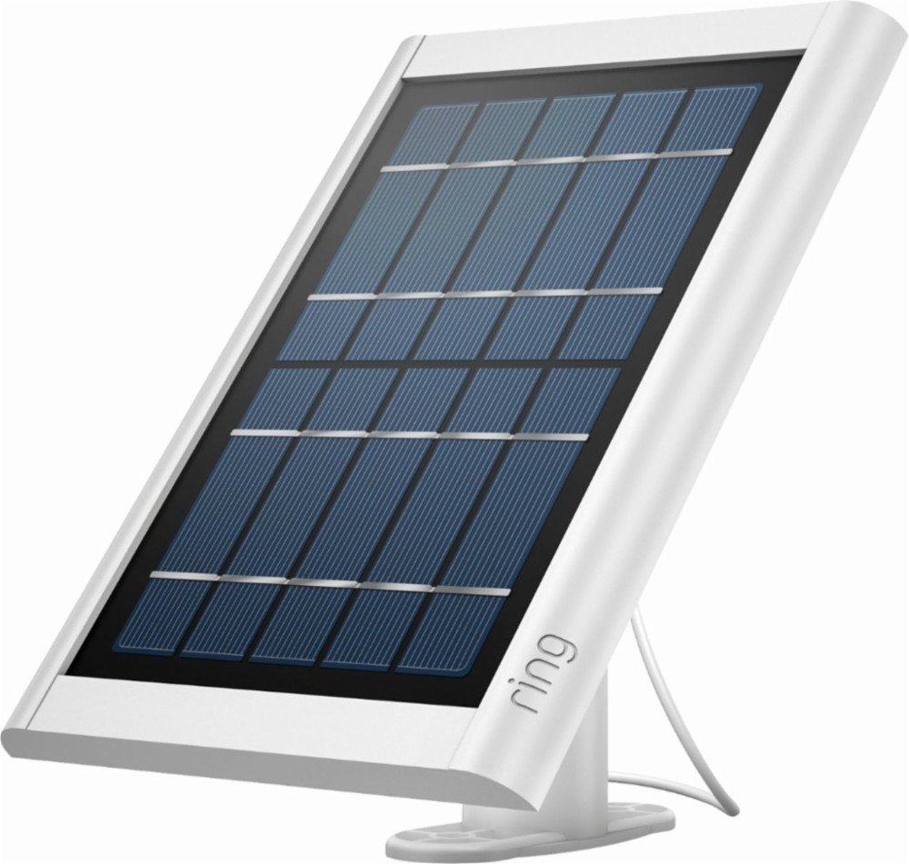 This is a White Ring Solar Panel.