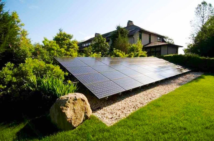 Ground-mounted solar installation by Circle L Solar