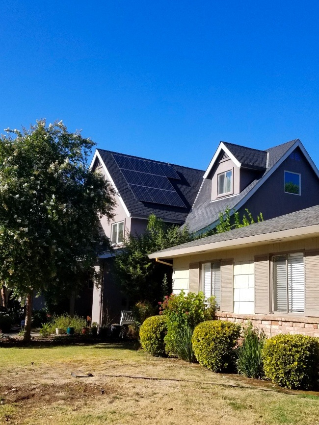 A photovoltaic system installed by NRG Clean Power in Sacramento consists of 22 solar power delivering the peak power of 8.5 kW.