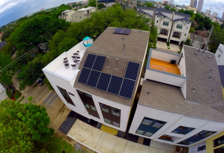 Texas Solar Outfitters' residential installation